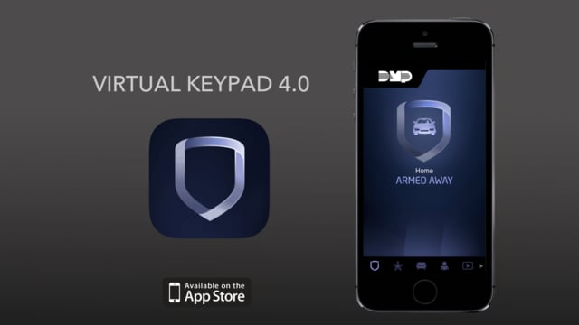 Virtual Keypad App for DMP products by OMNI Fire and Security