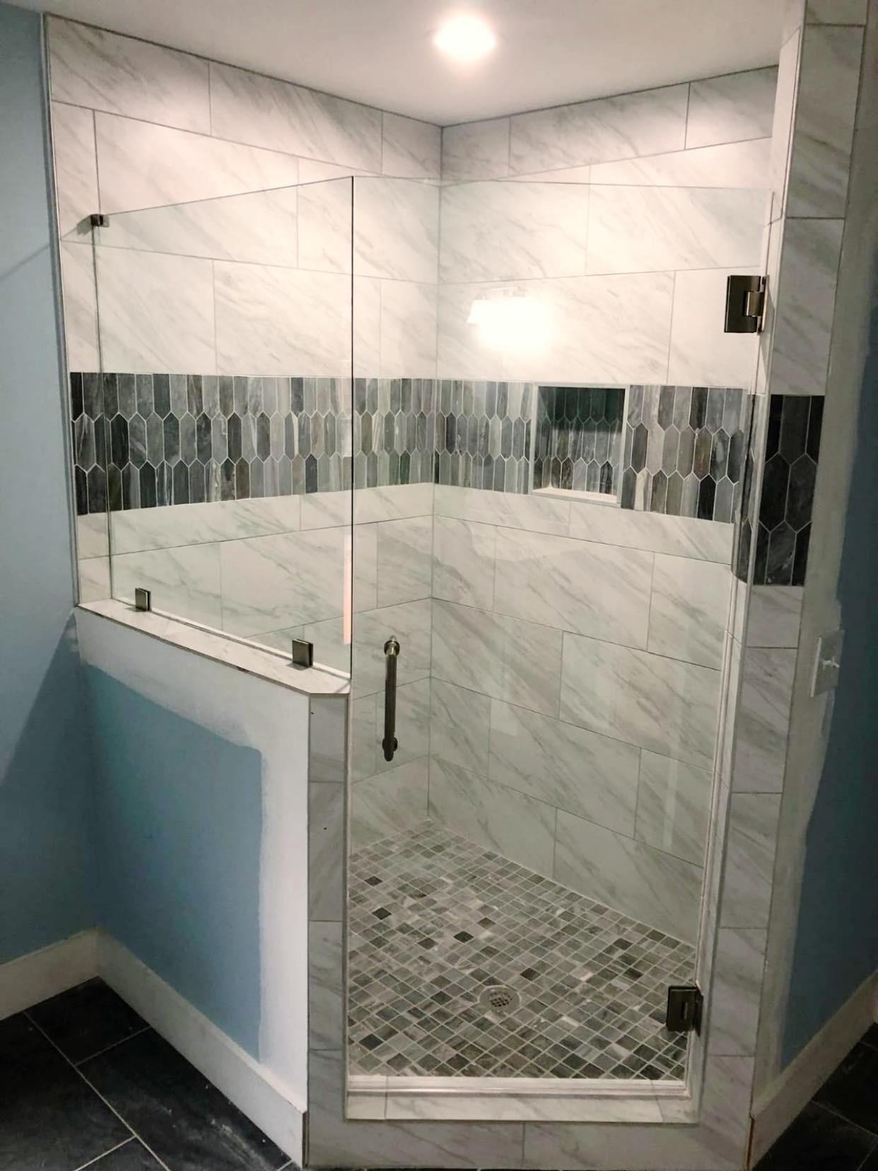 Custom Frameless Shower Glass Doors By Shower Glass Dream