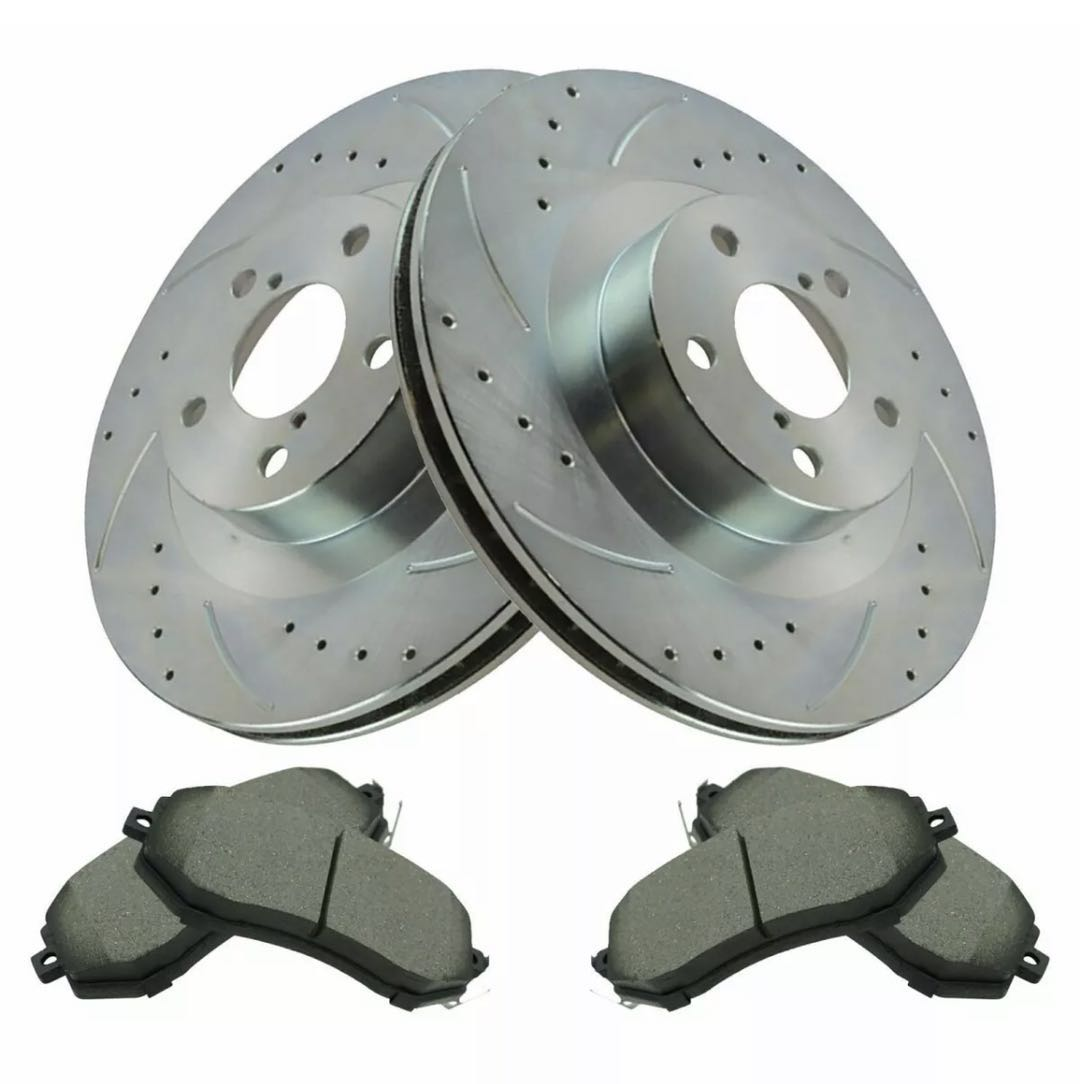 Brake Pads And Rotors Prices >> Holiday Sale Performance Drilled And Slotted Rotors With
