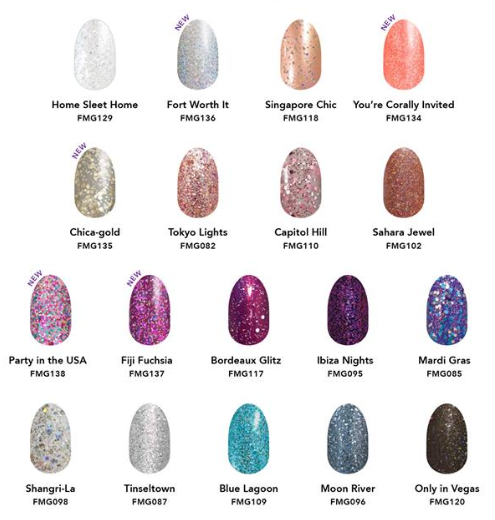 Glitter By Tips And Toes With