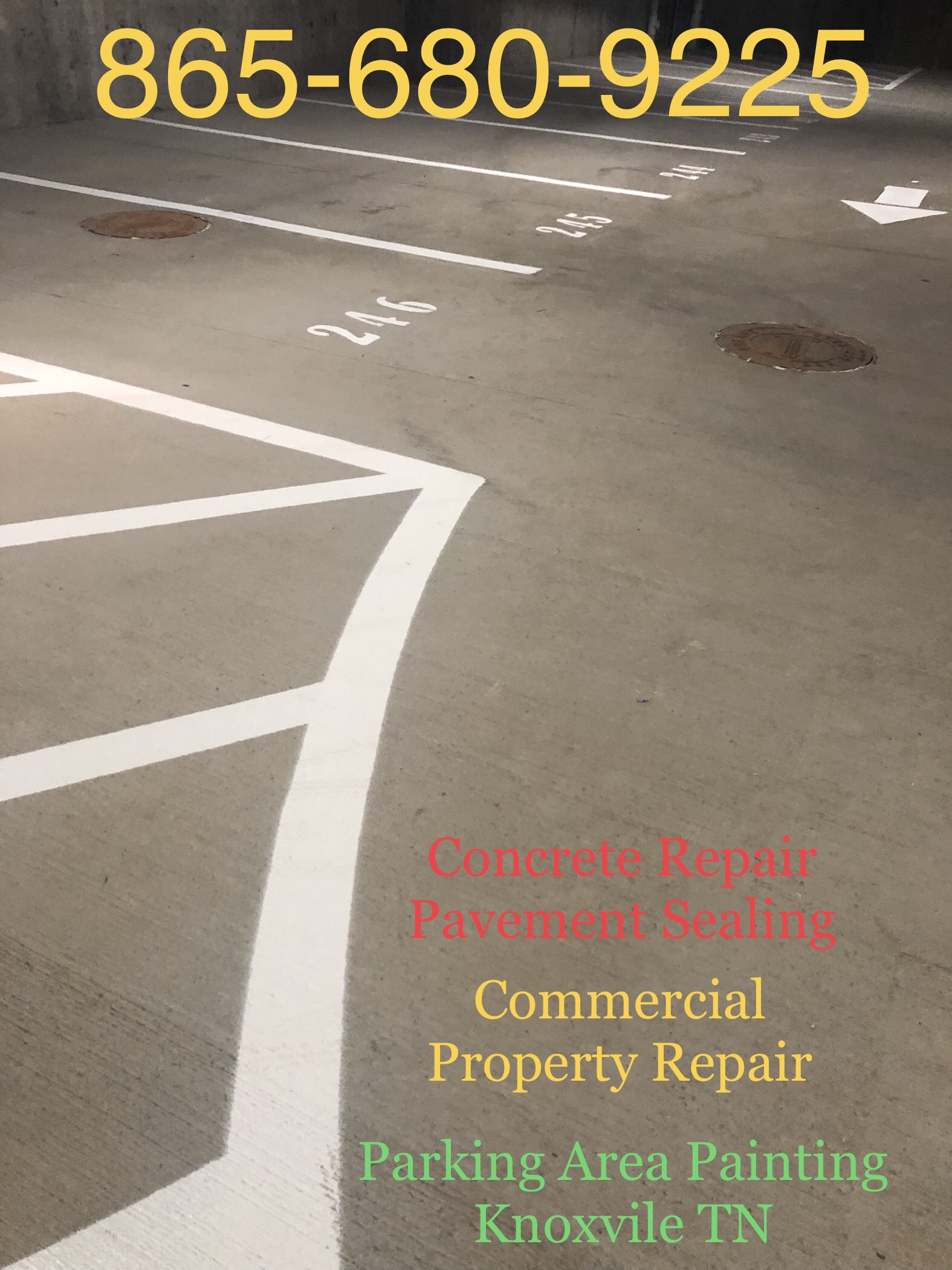 50 Off On Parking Area Maintenance Knoxville Tn By