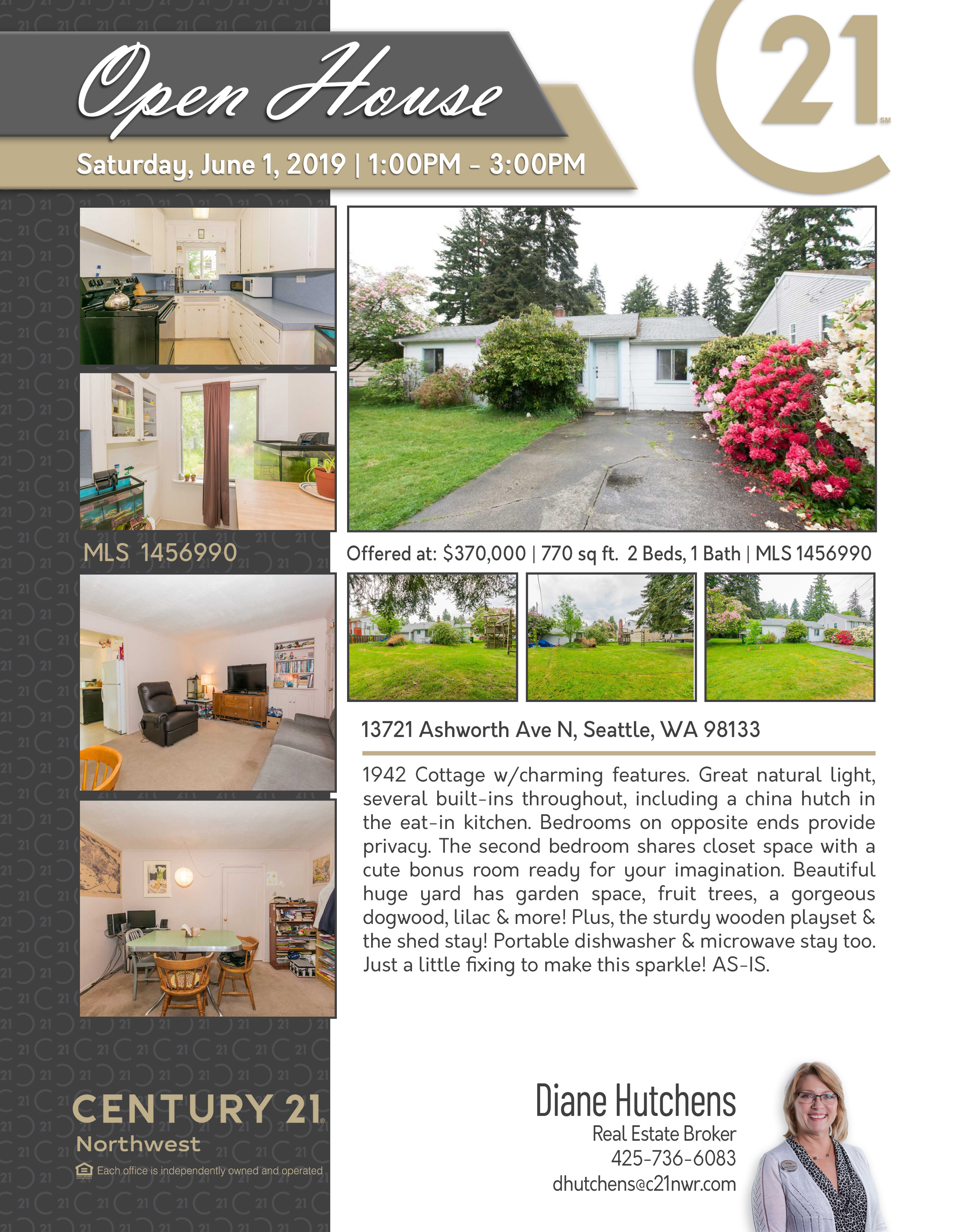OPEN HOUSE by Century 21 Northwest Realty in Lake Stevens