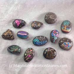 mindfulness mandala meditation stones