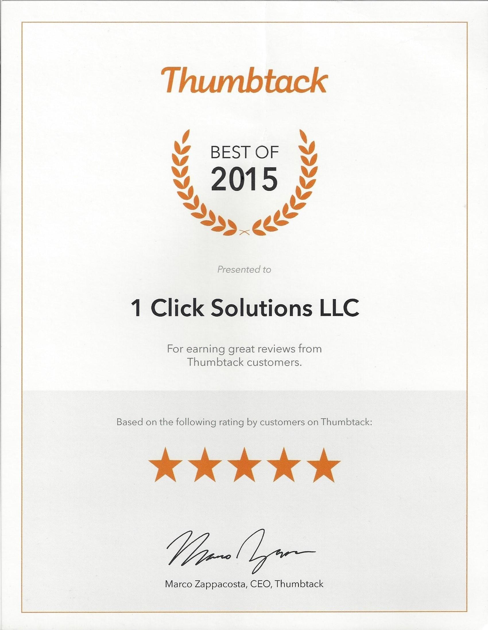 Thumbtack leads reviews